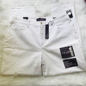 Gloria Vanderbilt Jeans - Gloria Vanderbilt Slimming Amanda White 18 Short